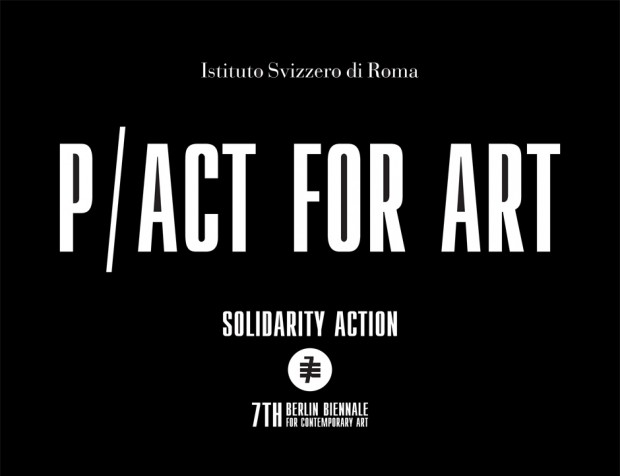 P/Act for Art – eine Publikation des Istituto Svizzero di Roma