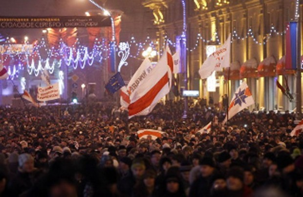 Assembly to remember the demonstrations in Minsk on December 19, 2010