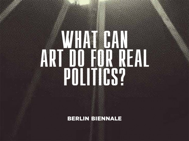 WHAT CAN ART DO FOR REAL POLITICS?